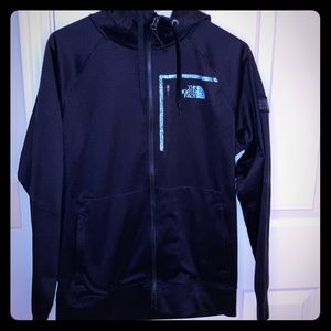 The North Face lightweight zip up jacket with hood